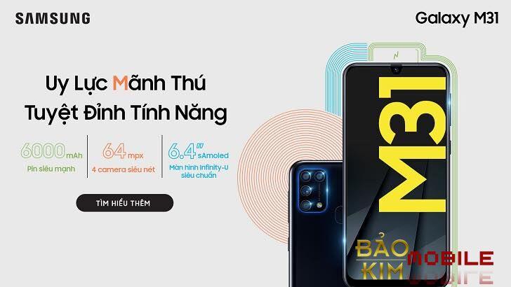 Thay pin Samsung M31 giá rẻ