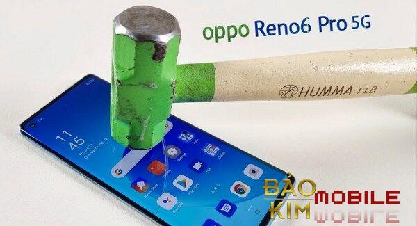 Thay mặt kính Oppo Reno6