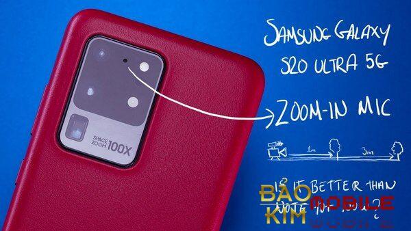 Thay mic Samsung S20, S20 Ultra