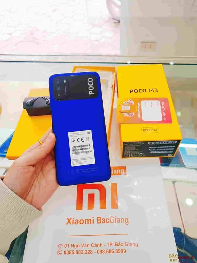 Thay pin Xiaomi Poco M3