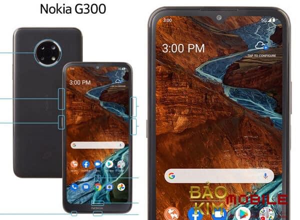 Thay mặt kính Nokia G300