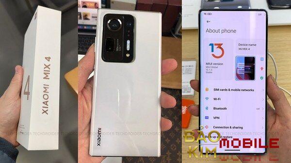 Thay mặt kính Xiaomi Mi MIX 4